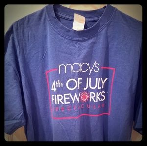 FREE with 3 for $25:  Macys 4th of July Tshirt